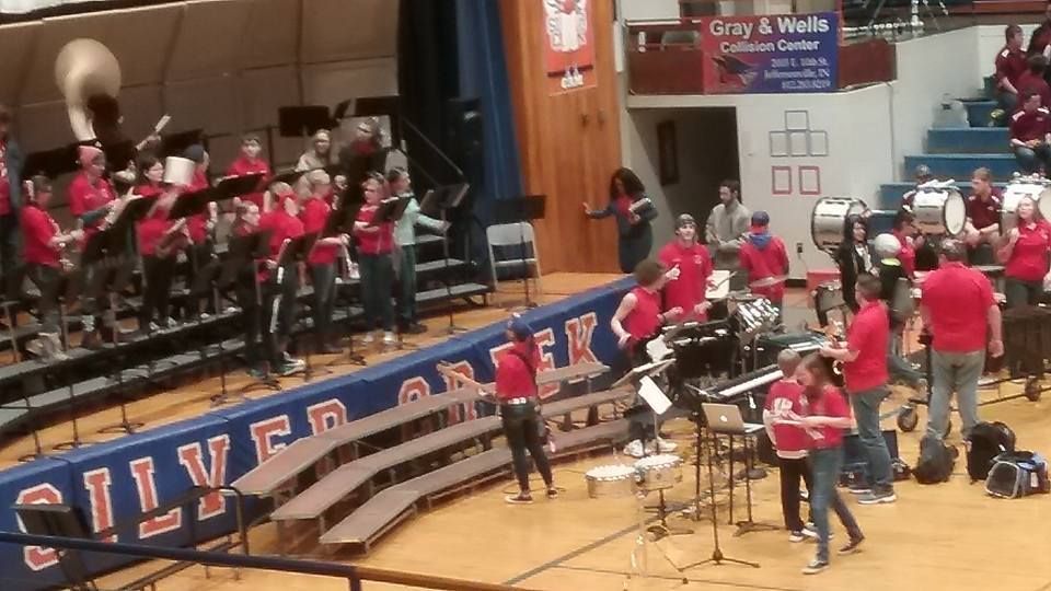 WW Band Dominates Pep Band Competition