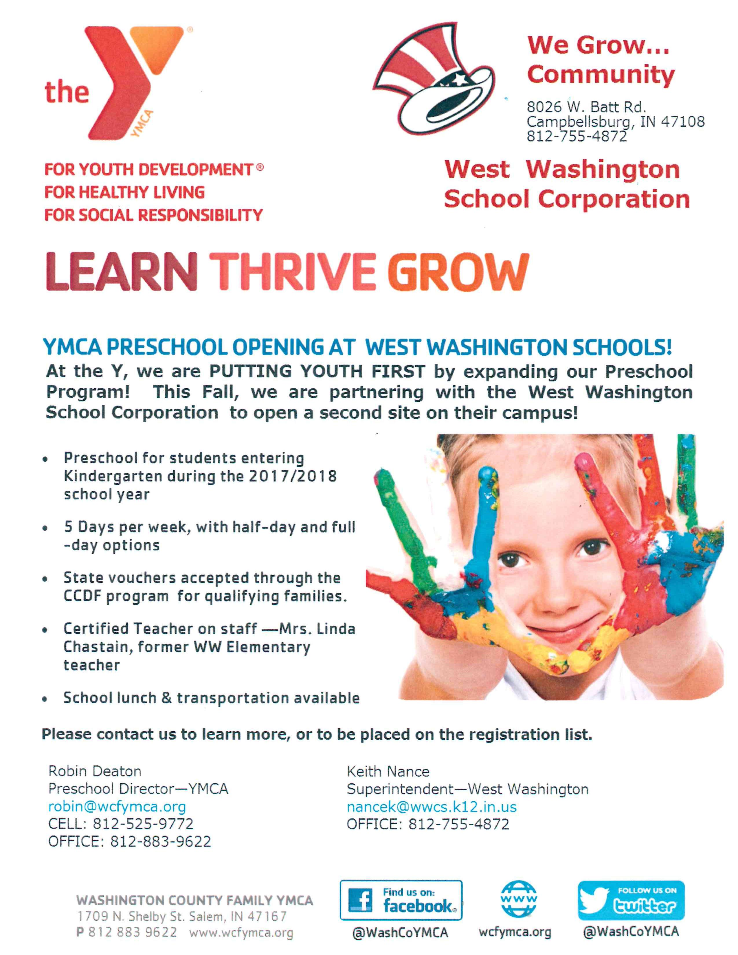 PreK Enrollment Now Open
